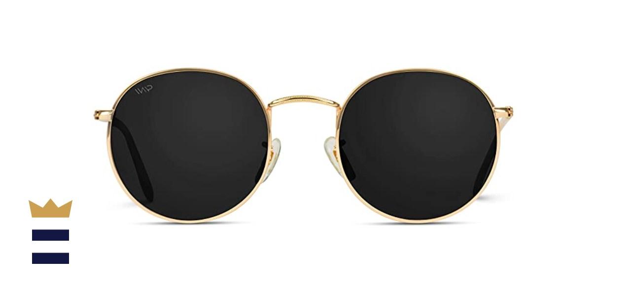 WearMe Pro Round Retro Sunglasses