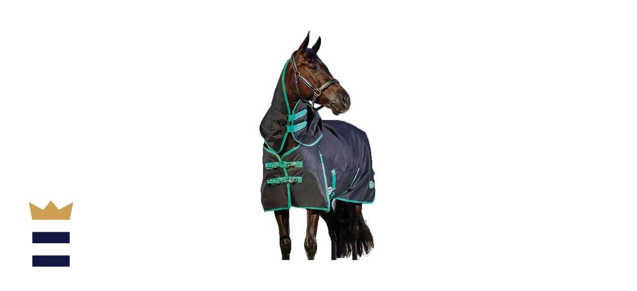 WeatherBeeta Green-Tec 900D Detach-A-Neck Medium Horse Blanket