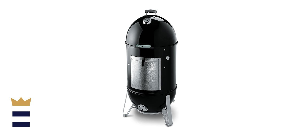 Weber's 22-inch Smokey Mountain Charcoal Smoker