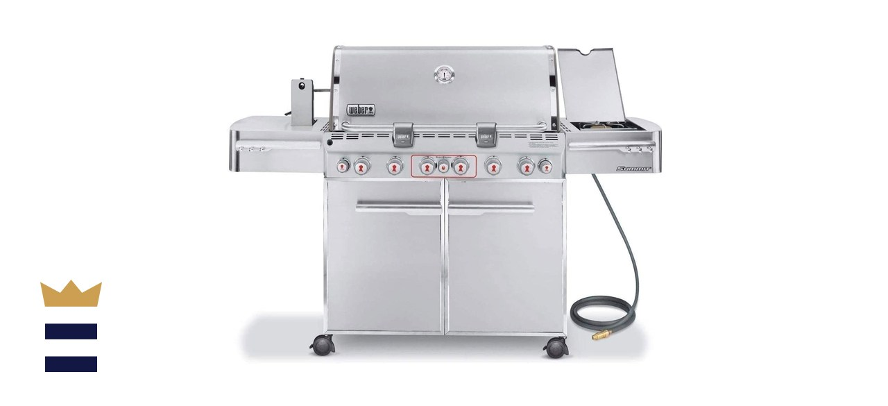 Weber Summit S-670 6-Burner Natural Gas Grill
