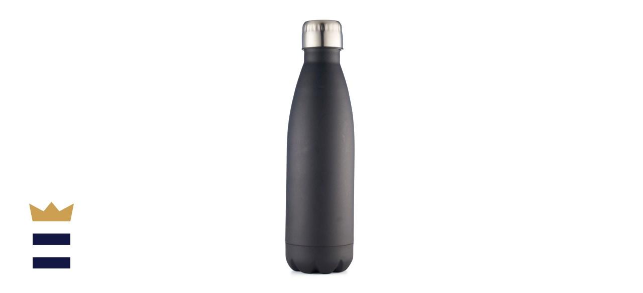 Wellness 17-Ounce Double-Wall Stainless Steel Water Bottle