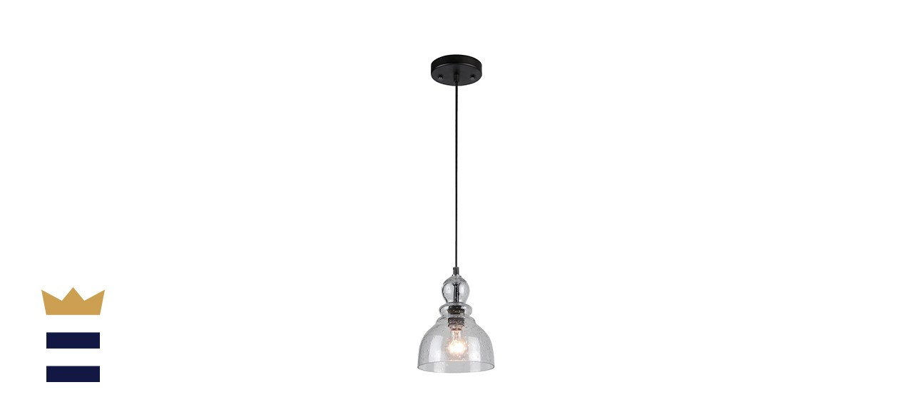 Westinghouse Industrial Mini-Pendant with Clear Seeded Glass