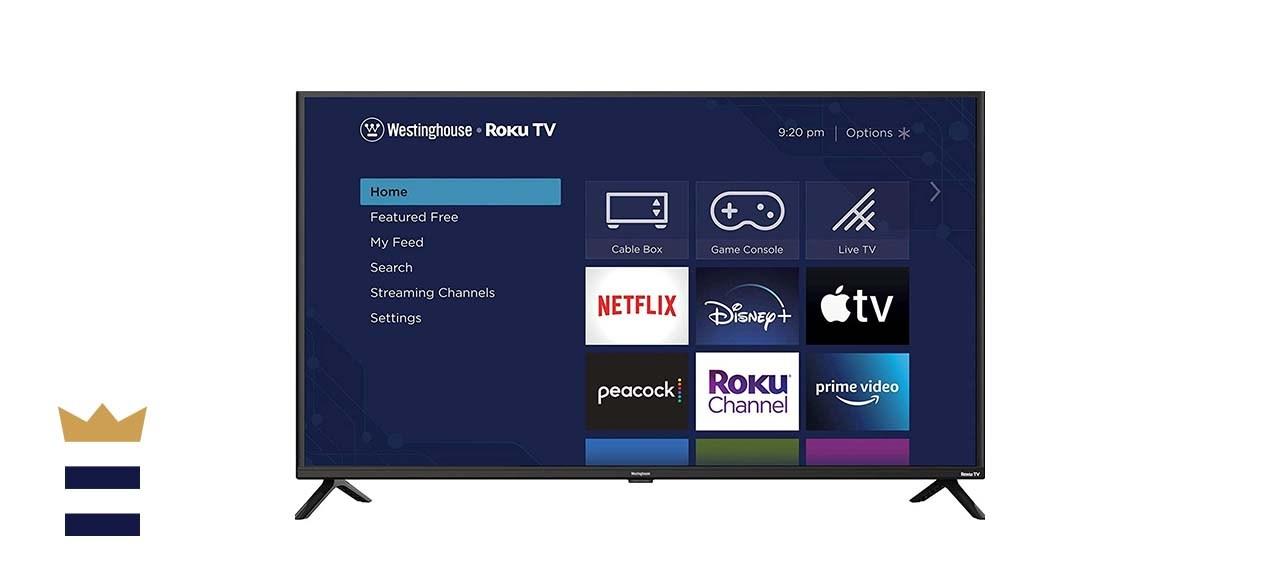 Westinghouse TV 42-Inch FX Series Smart Roku TV 720p FHD 60Hz Display