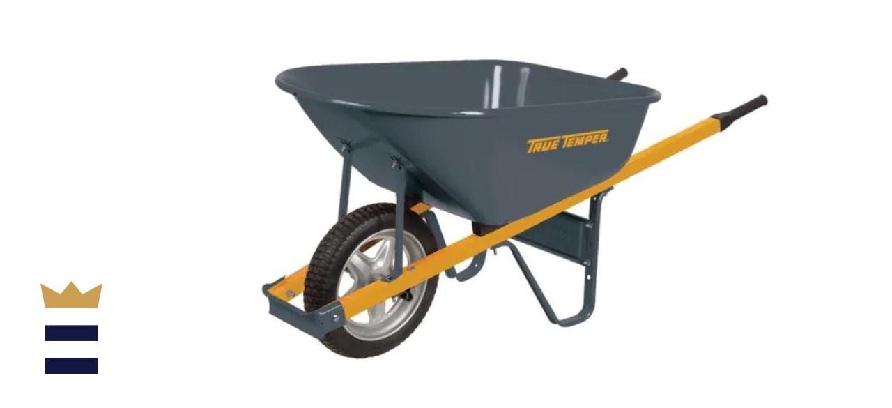 True Temper 6 cu. ft. Wheelbarrow