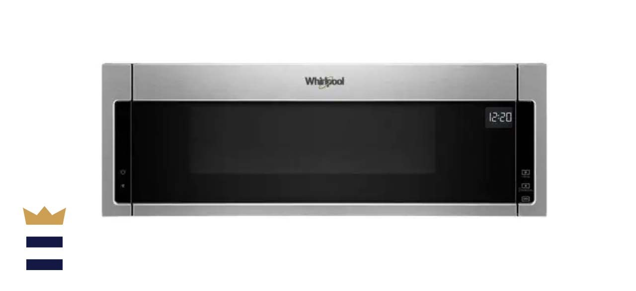 Whirlpool 1.1 Cubic Feet Low Profile Over-the-Range Microwave