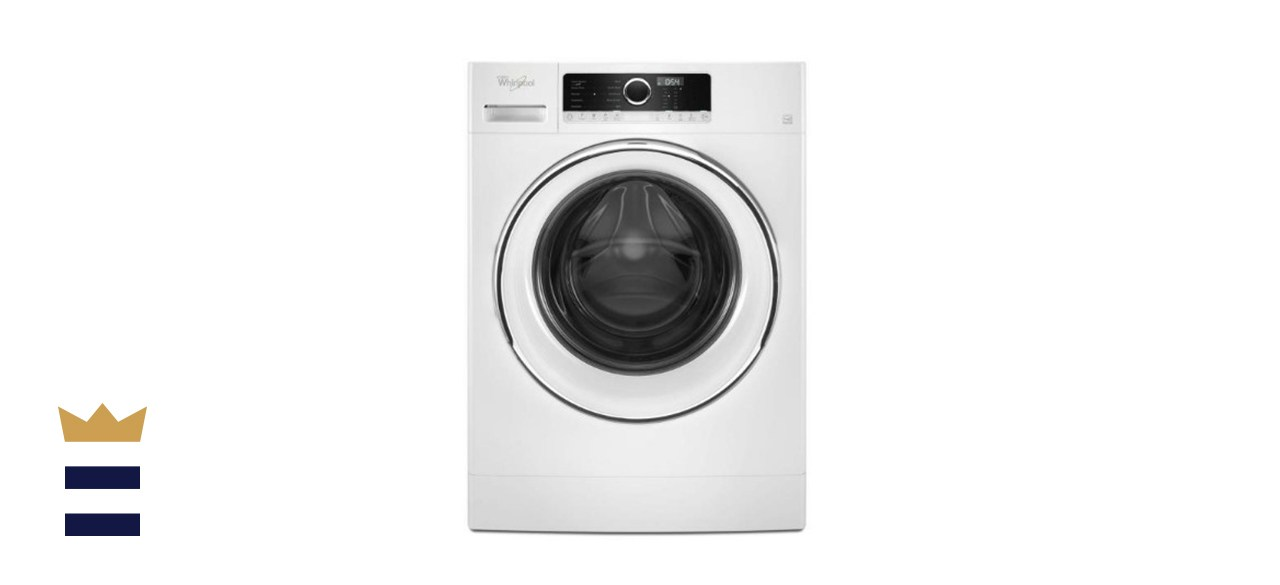 Whirlpool High Efficiency White Front Load Compact Washing Machine