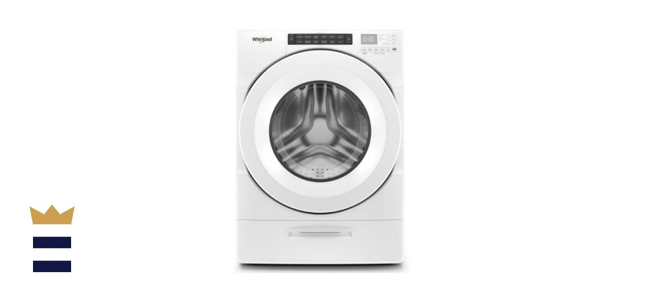 Whirlpool High Efficiency White Front Load Washing Machine