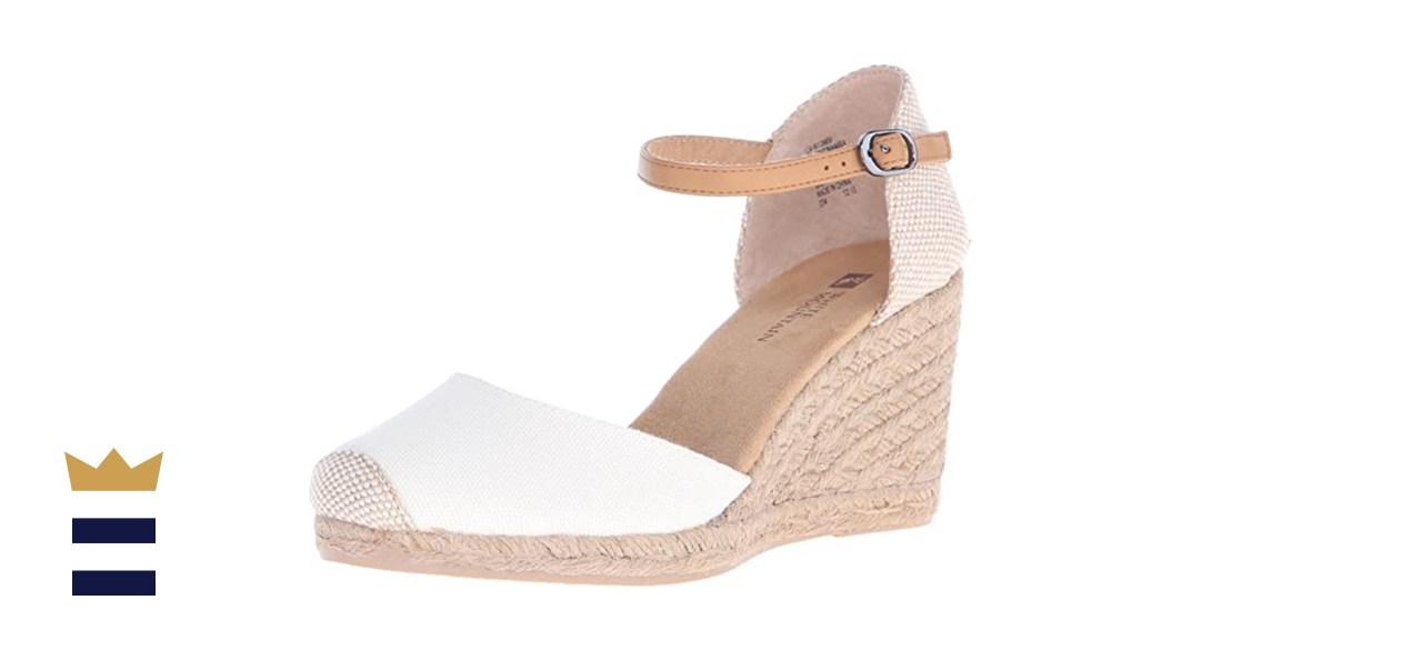 White Mountain Mamba Women's Wedge Sandal
