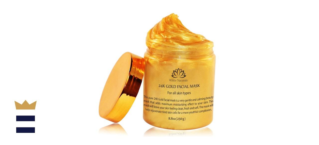 White Naturals 24K Gold Facial Mask
