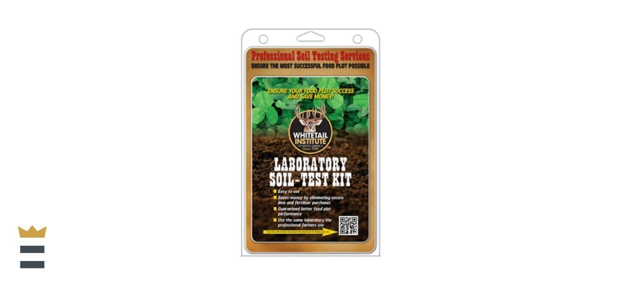 Whitetail Institute Soil Test Kit