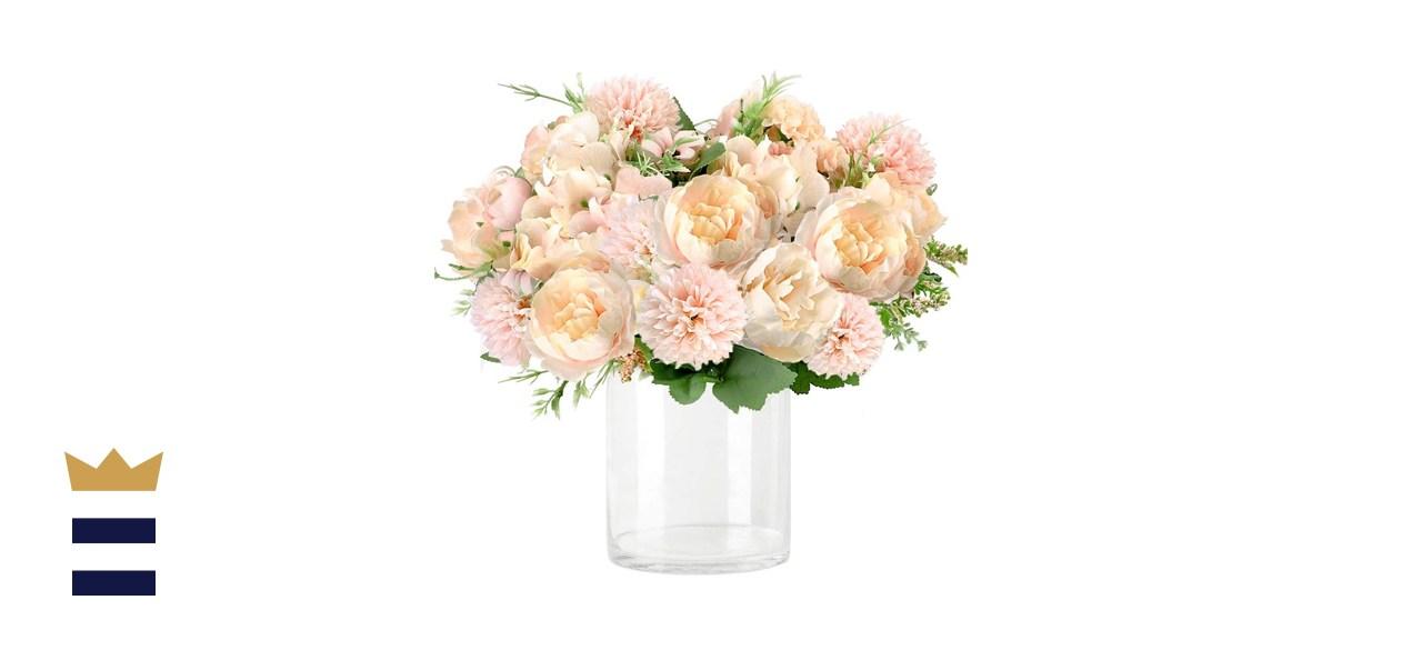 Whonline Artificial Silk Flower Bouquet