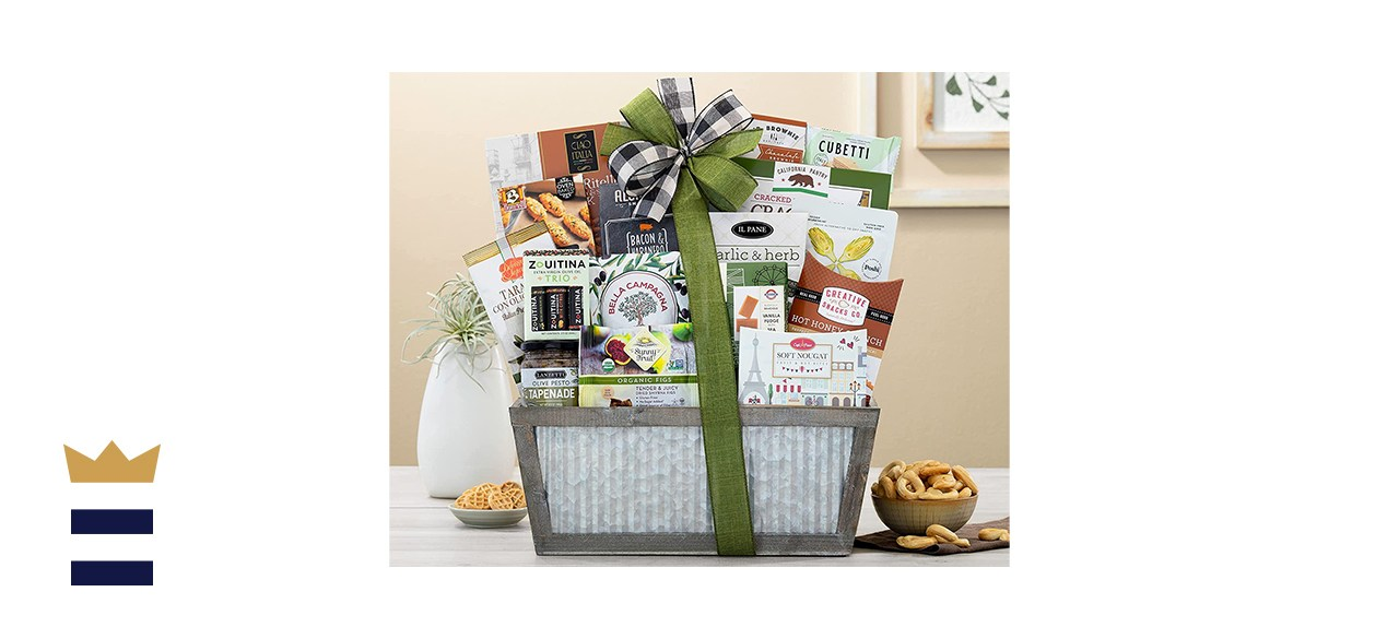 Wine Country The Connoisseur Gourmet Gift Basket
