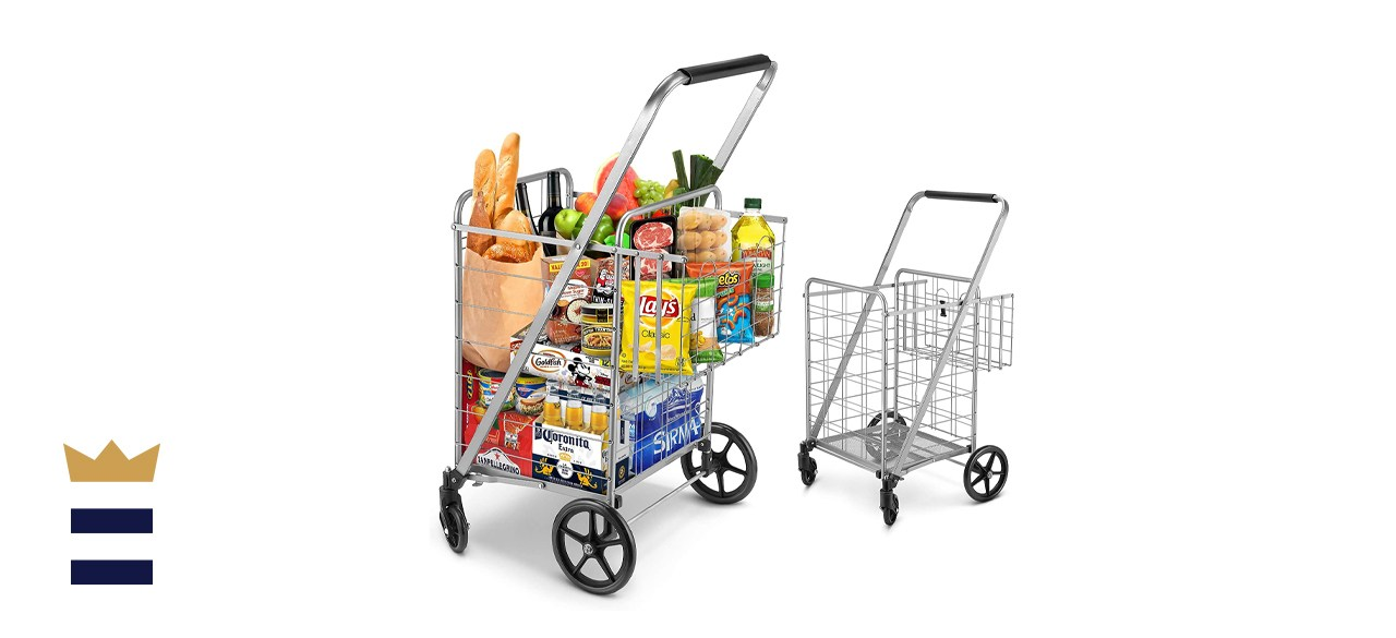 Winkeep Jumbo Shopping Cart