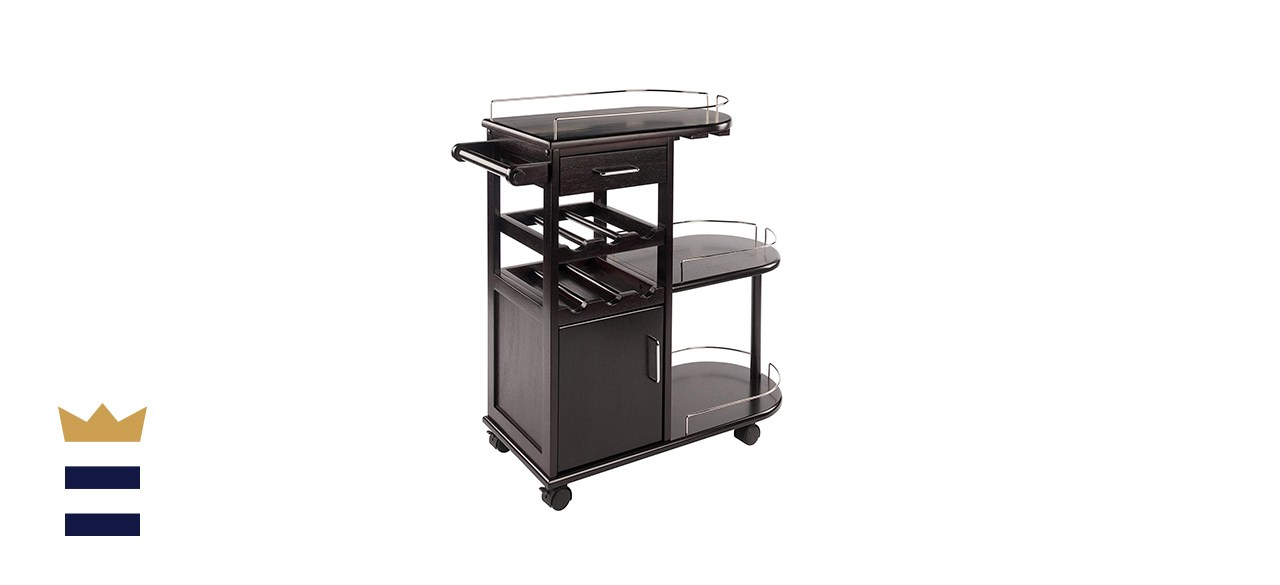 Winsome Trading Jimmy Entertainment Cart