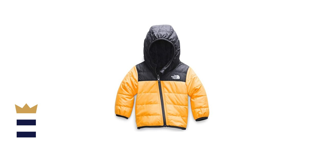 The North Face Toddler Boys' Reversible Mount Chimborazo Hooded Insulated Jacket