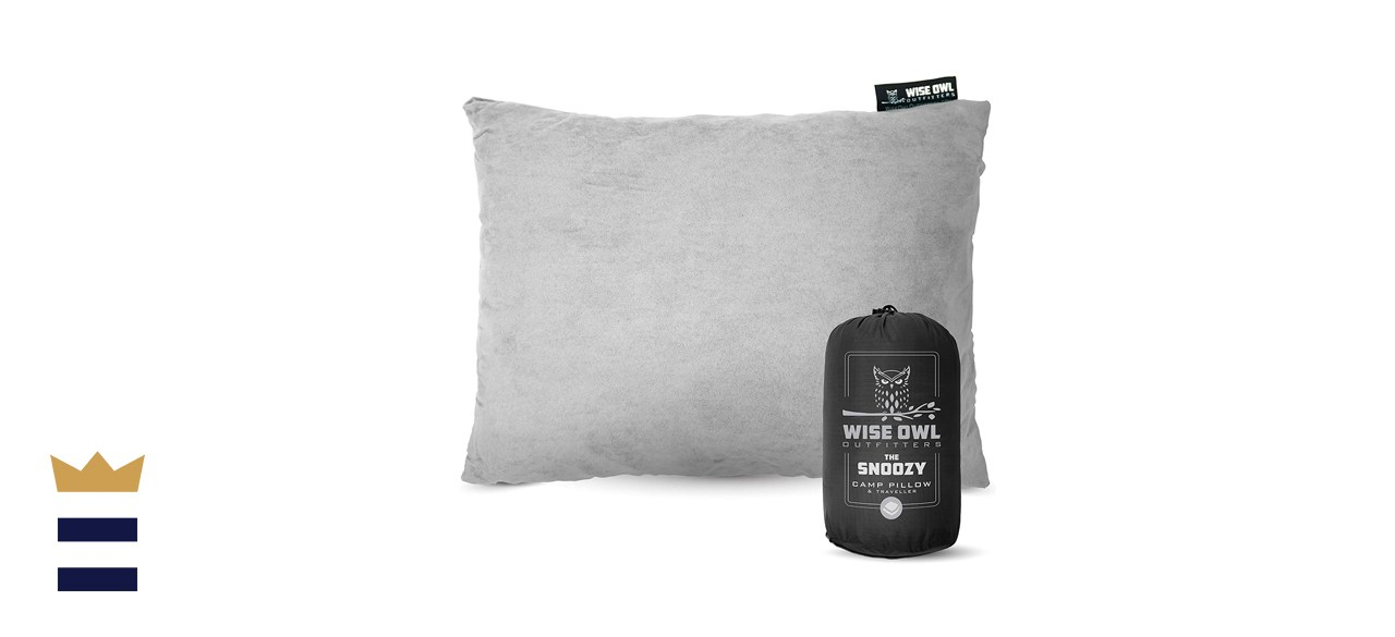 Wise Owl Outfitters Camping Travel Pillow