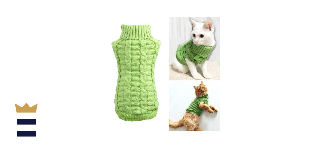 Wiz BBQT Knitted Braid Plait Turtleneck