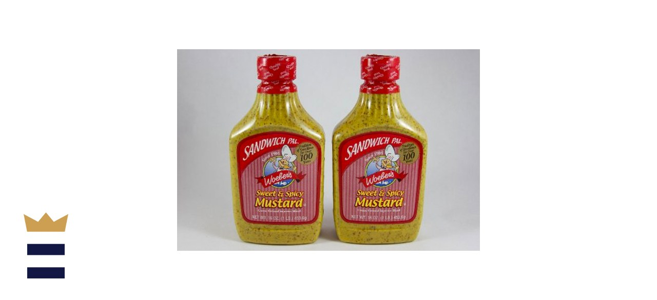 Woeber's Sandwich Pal Sweet and Spicy Mustard