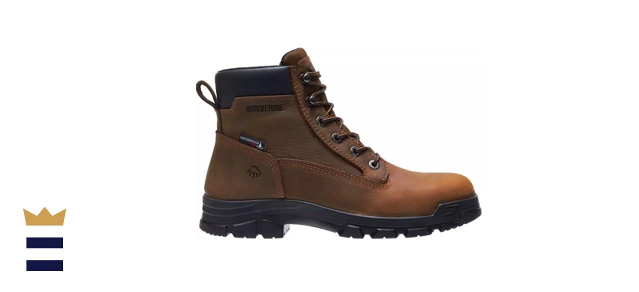 Wolverine Men's Chainhand EPX 6'' Waterproof Work Boots