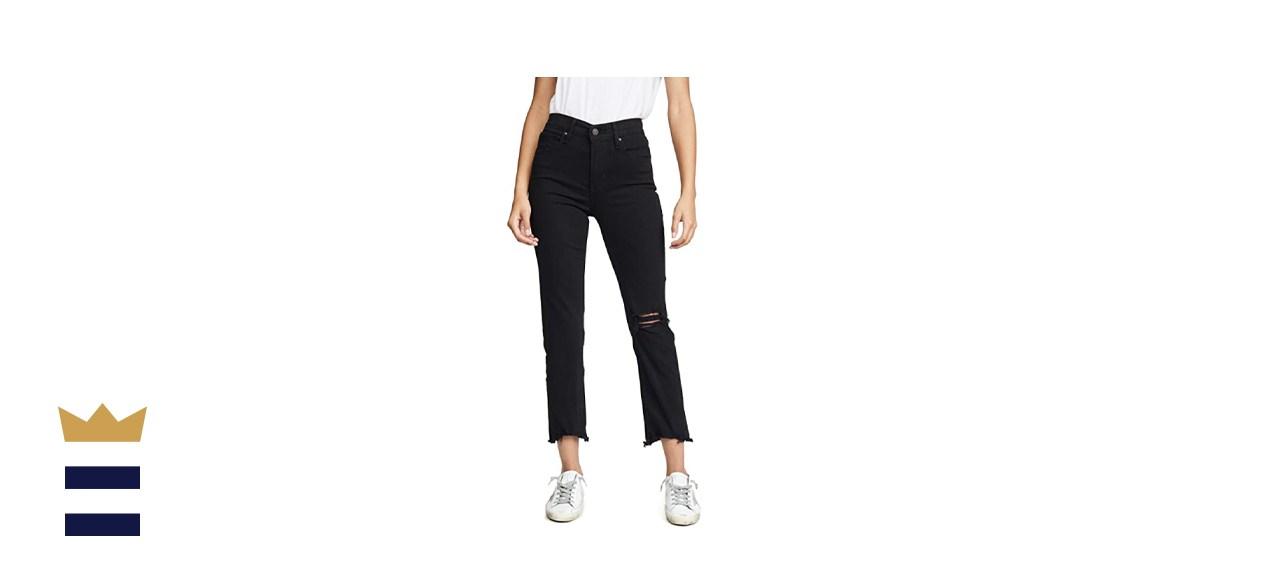 Women's Premium 724 High Rise Straight Crop Jeans