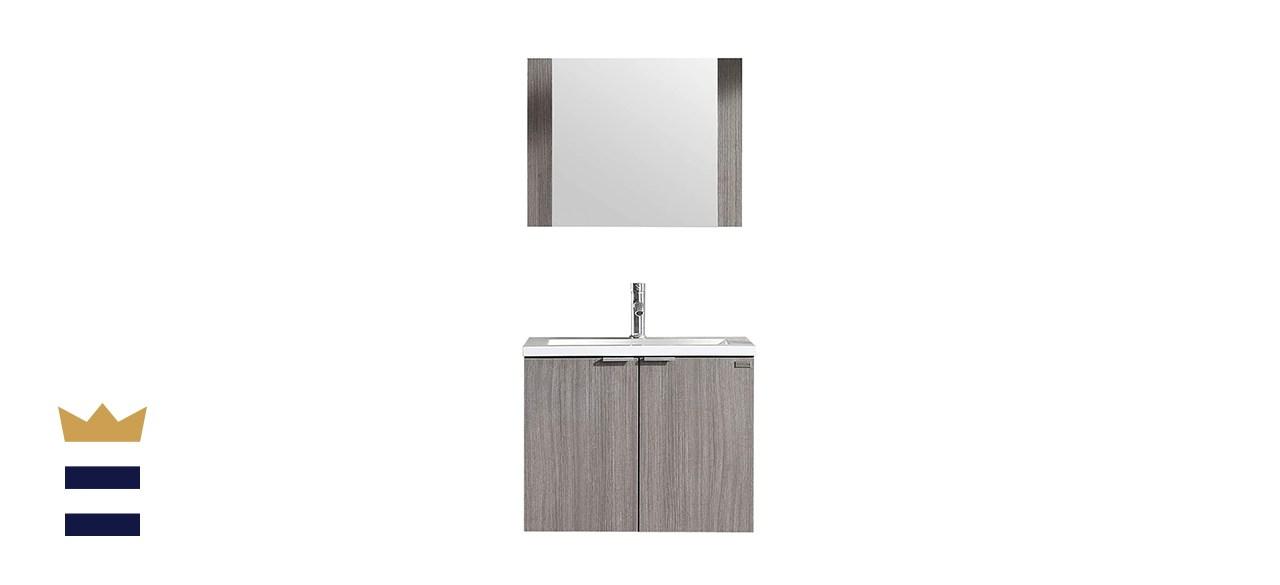 WONLINE Modern Bathroom Vanity