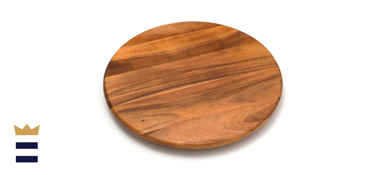 wooden turntables
