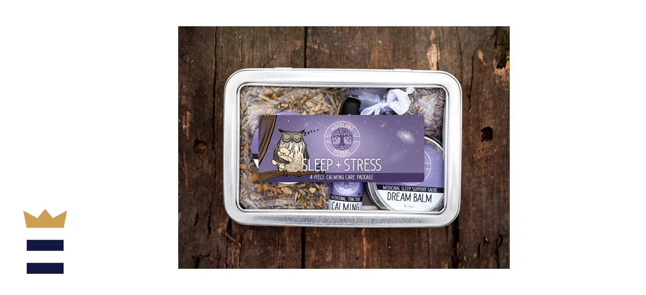 WoodlandHerbal Sleep & Stress Care Package