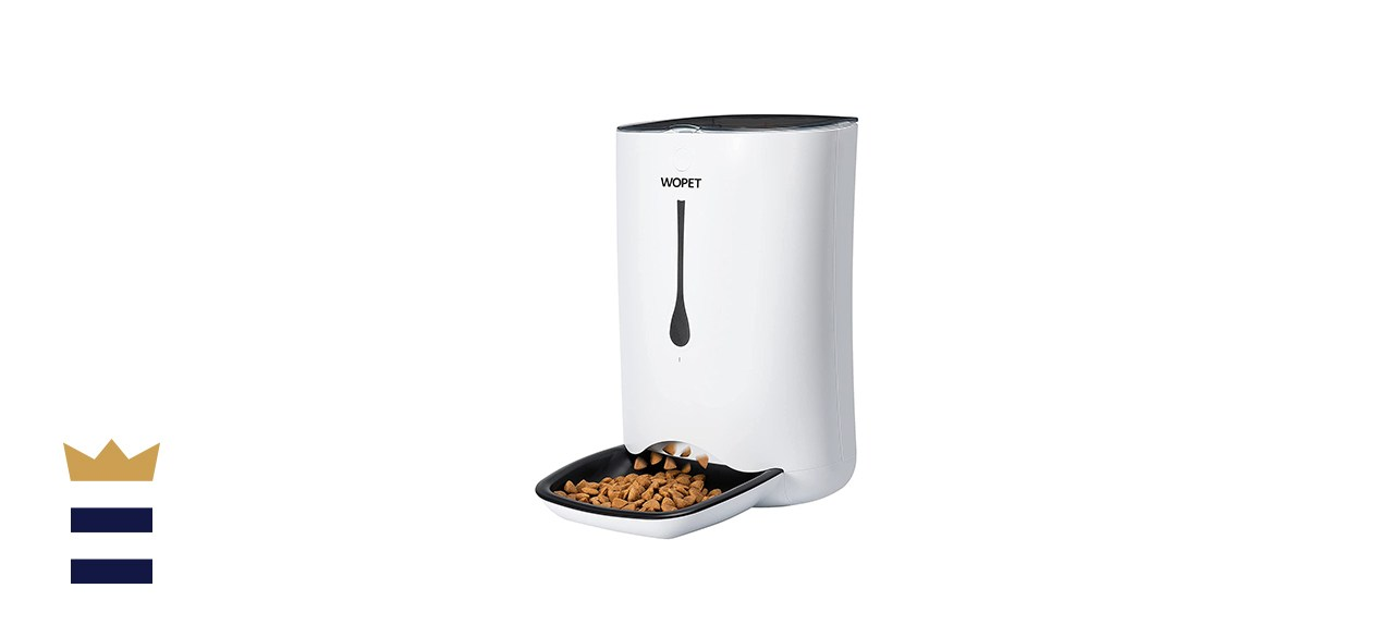 WOPET Automatic Pet Food Dispenser for Cats and Dogs