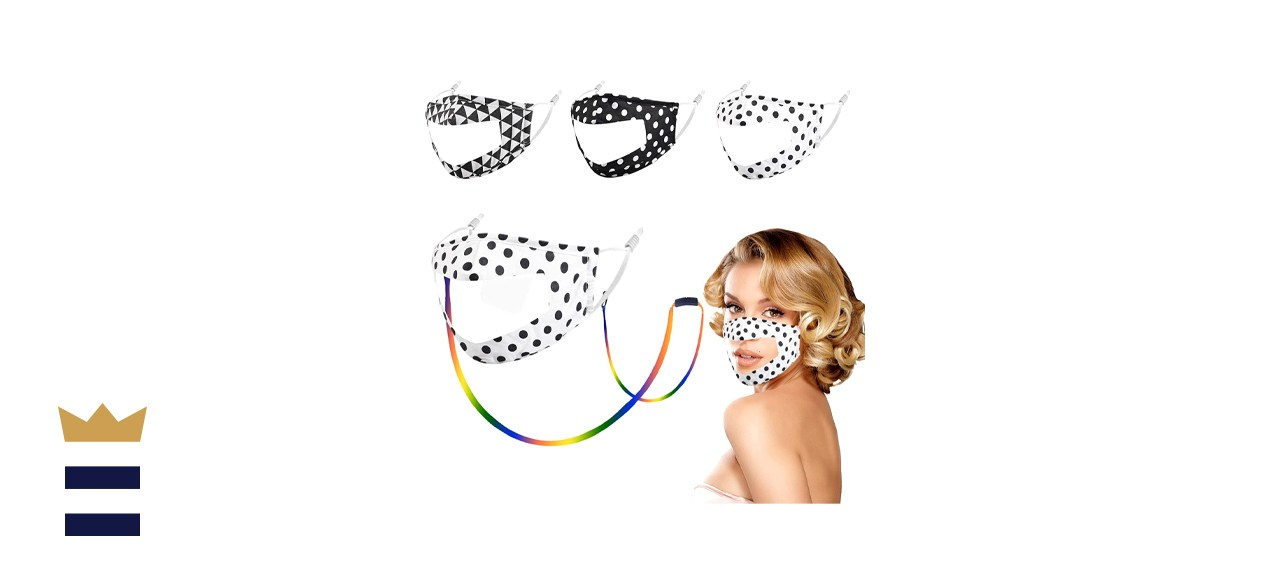 Woplaygreat See-Through Masks