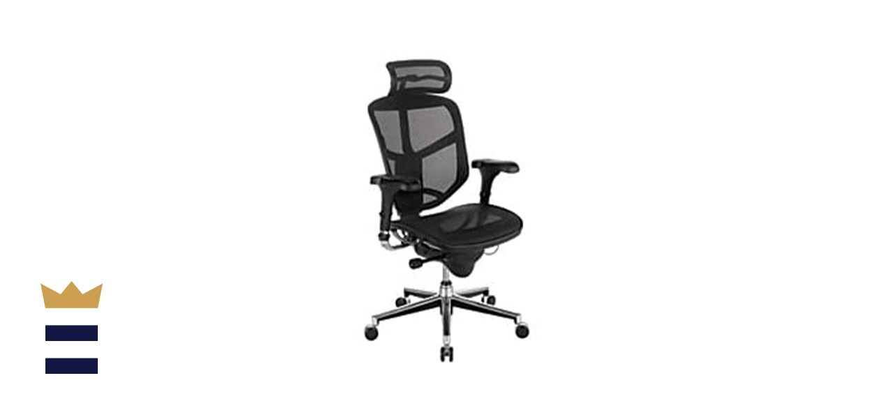 WorkPro Quantum 9000 Mesh Series High-Back Executive Chair