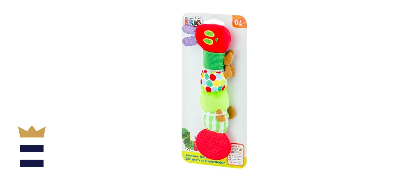 World of Eric Carle Very Hungry Caterpillar Teether Rattle
