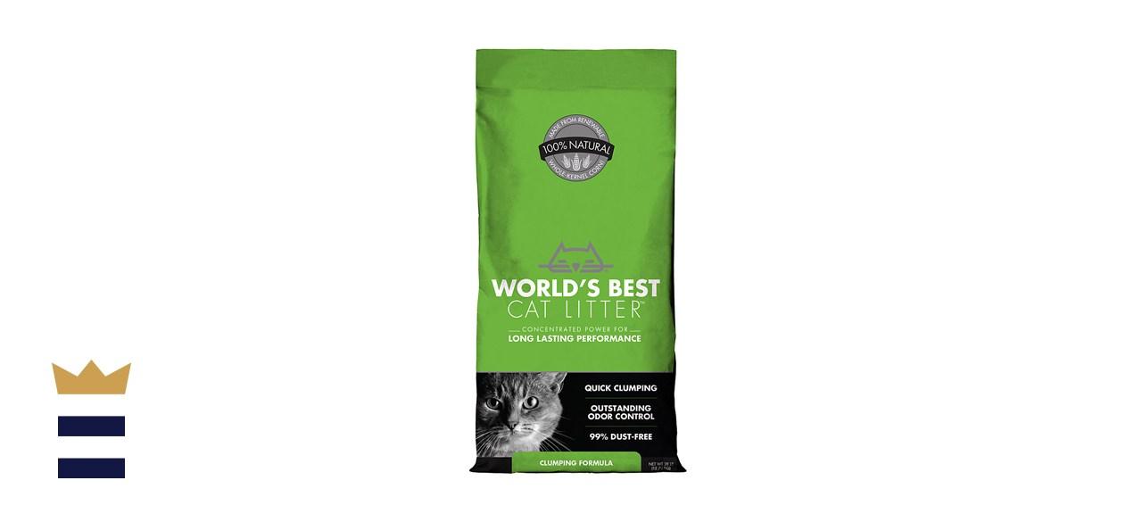 World's Best Cat Litter Unscented Clumping Corn
