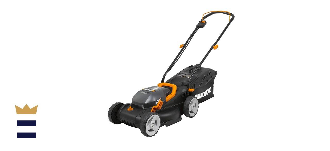 WORX 40V Power Share 14-Inch Lawn Mower