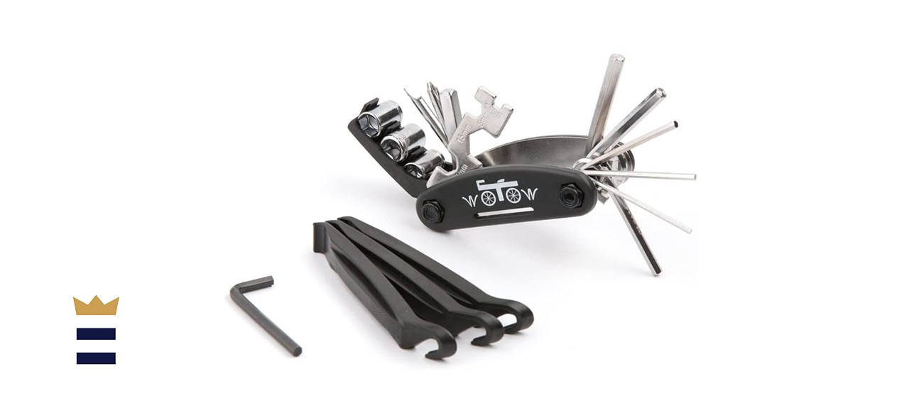 WOTOW 16 in 1 Multi-Function Bike Bicycle Cycling Mechanic Repair Tool Kit