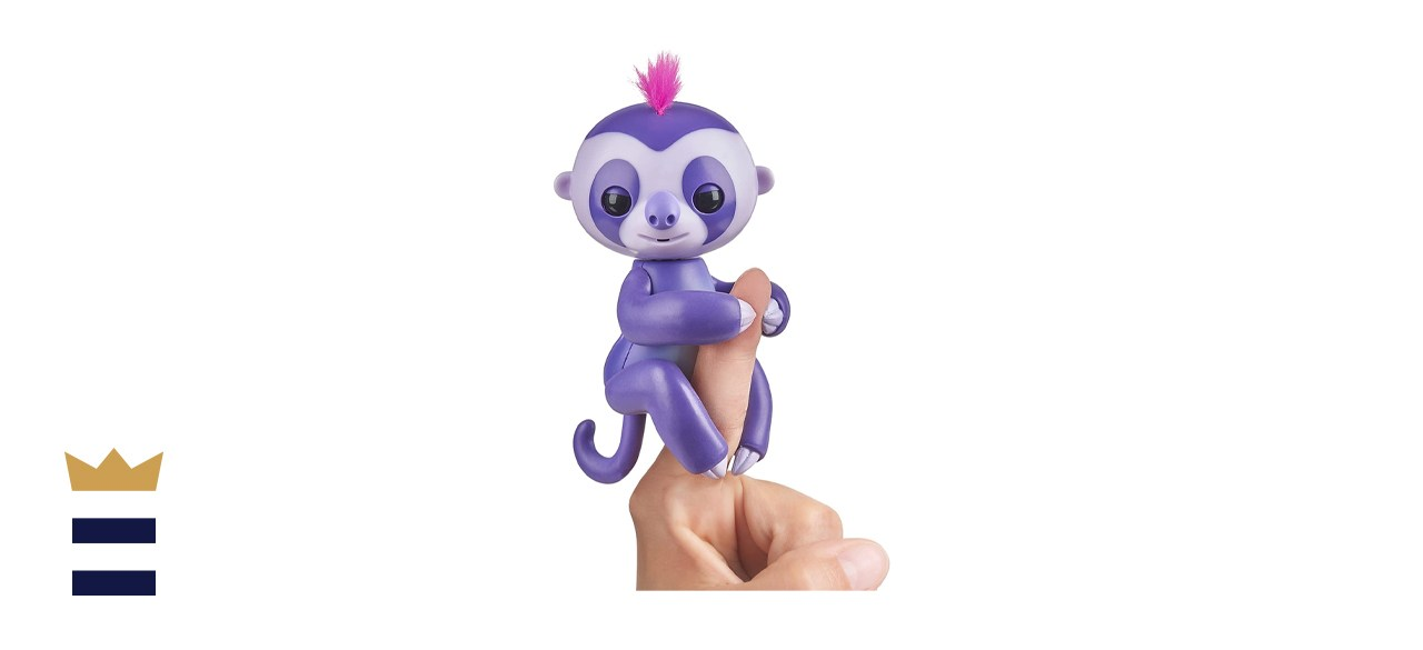 WowWee Fingerlings Baby Sloth Marge