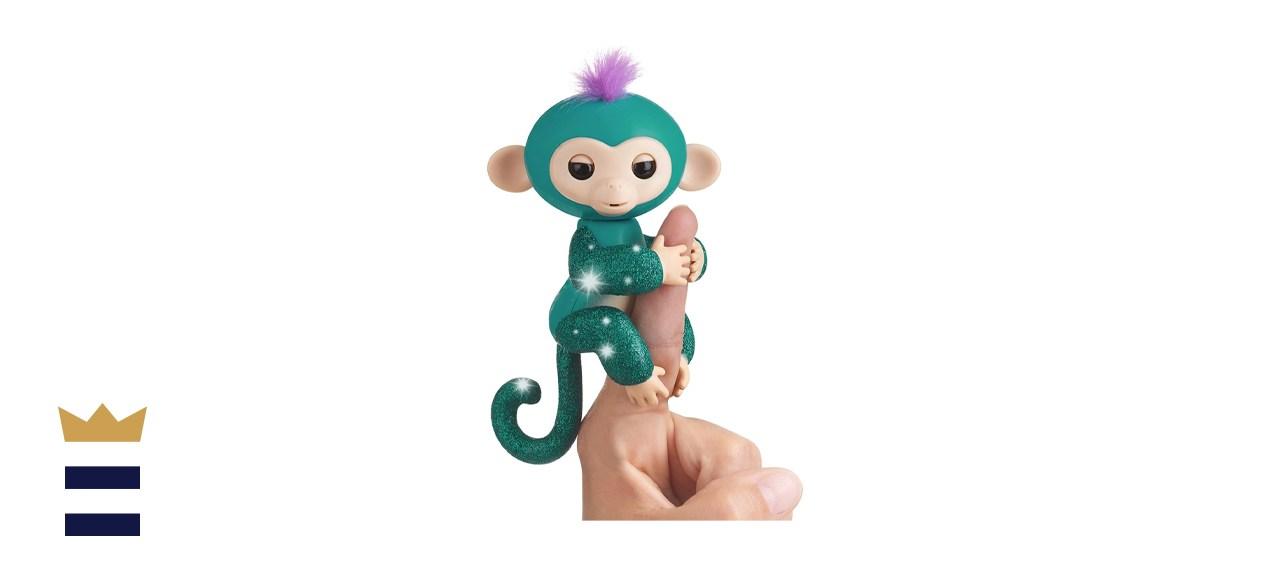 WowWee Fingerlings Glitter Monkey Quincy