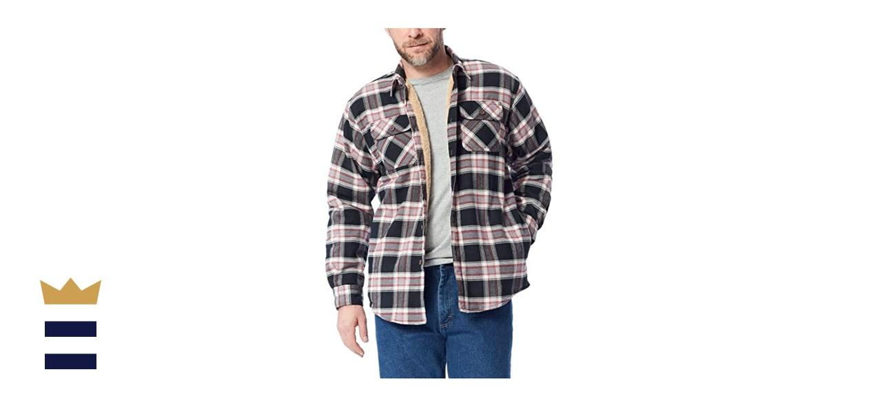 Wrangler Authentics sherpa lined jacket