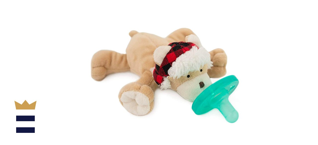 WubbaNub Wooly Bear Infant Pacifier