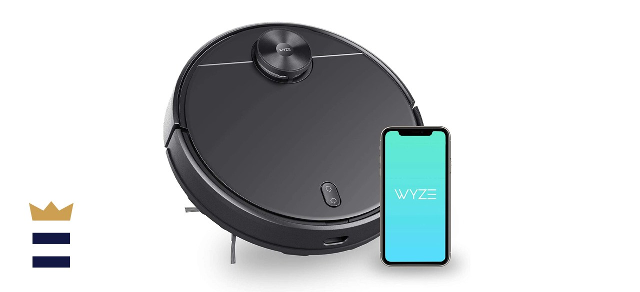 Wyze Robot Vacuum with LIDAR Mapping Technology