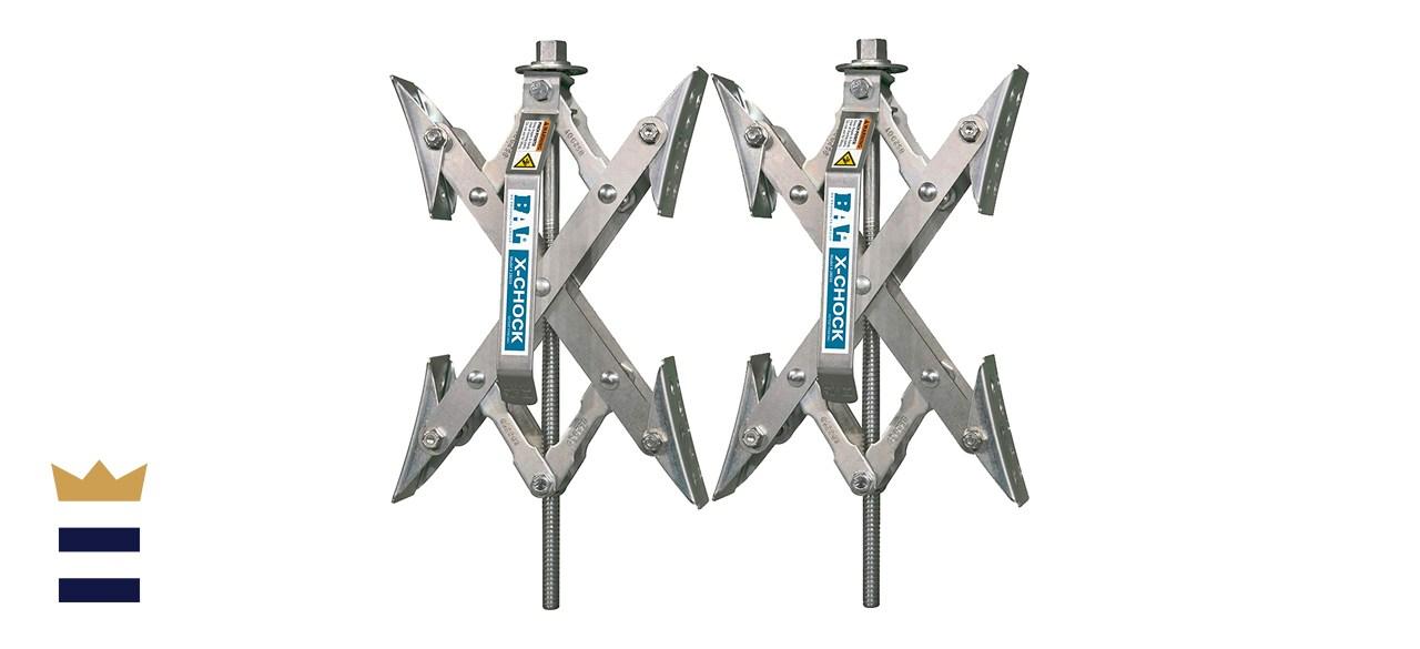 X Chock Wheel Stabilizers