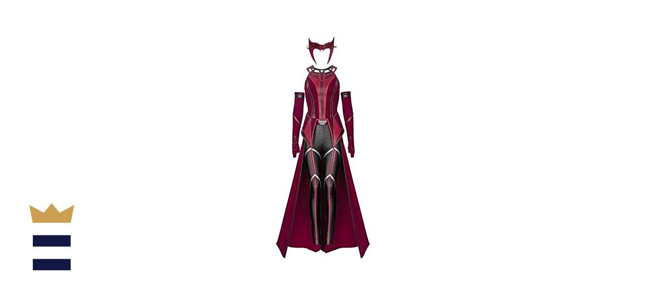 "Xianli ""WandaVision"" Wanda Maximoff Halloween Cosplay Costume"