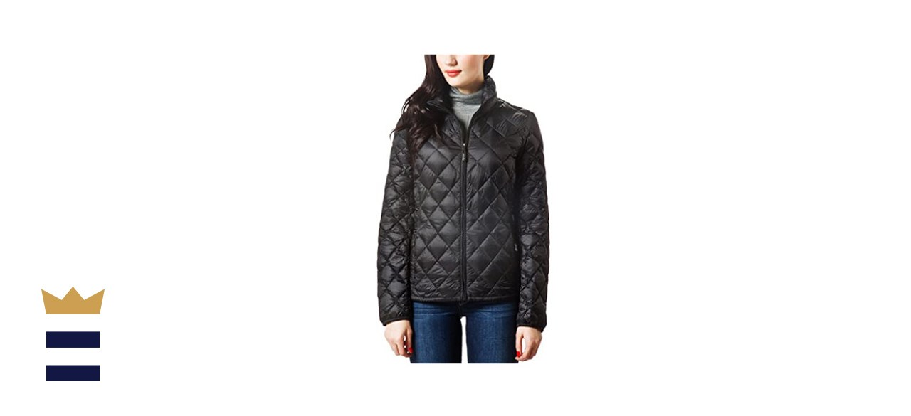 XPOSURZONE Women Packable Down Quilted Jacket