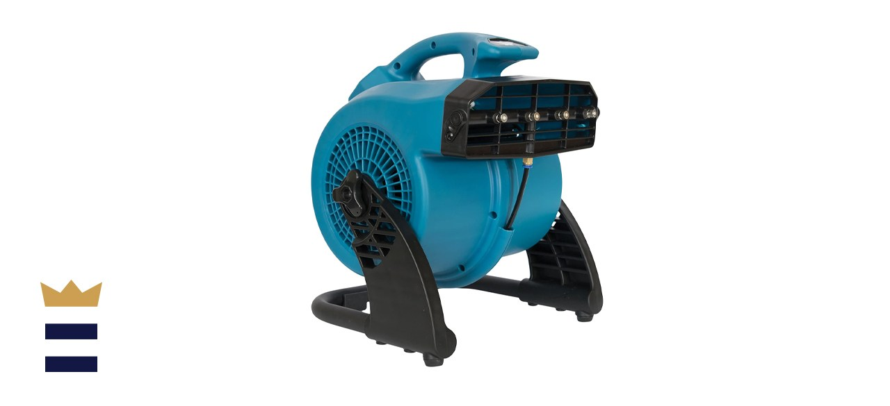 XPOWER FM-48 Heavy-Duty 3-Speed Misting and Cooling Utility Fan