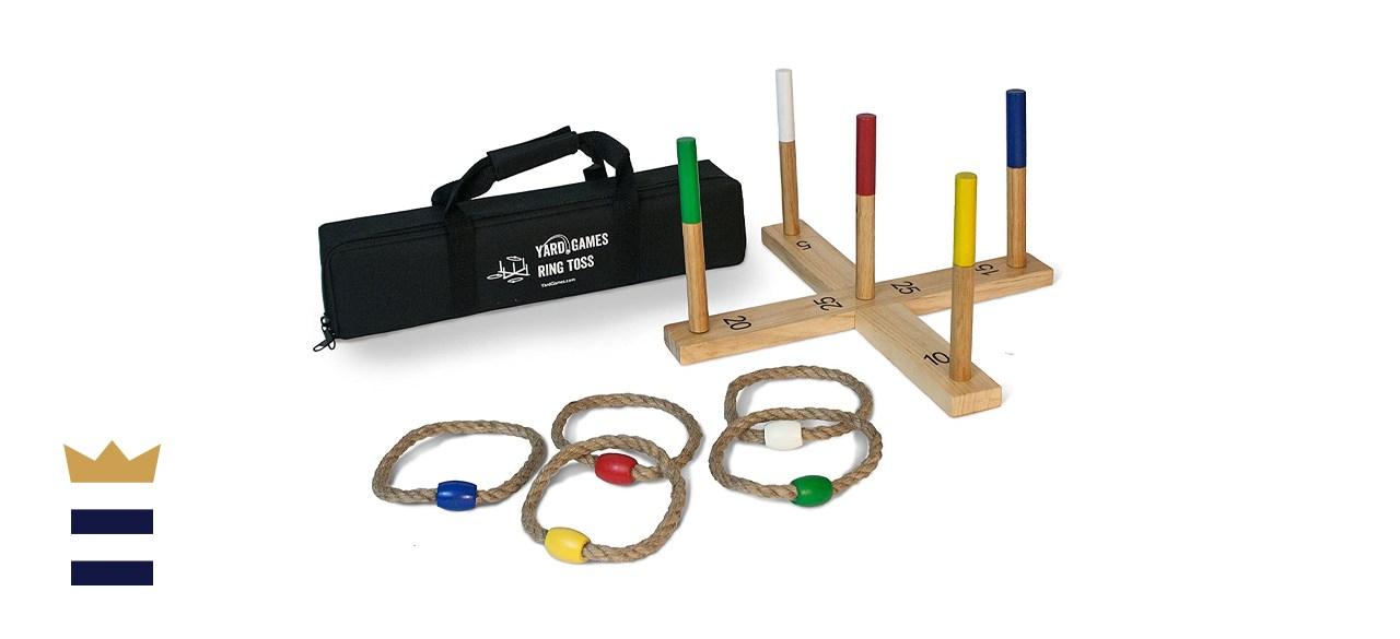 Yard Games Ring Toss Game Premium Set