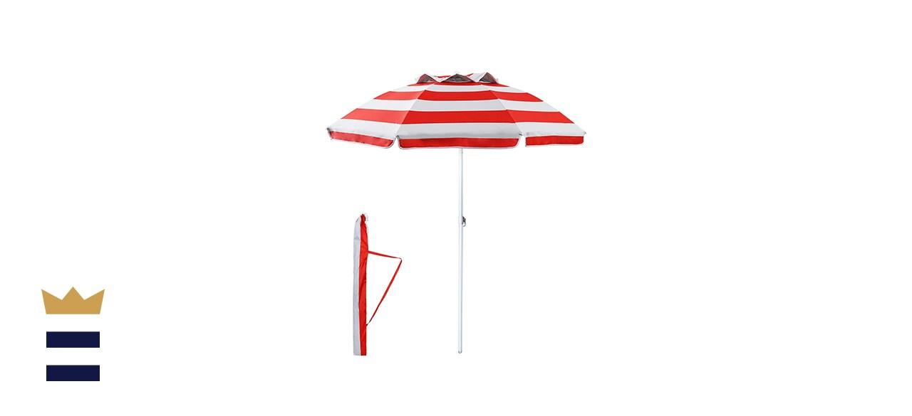 YATIO Beach Umbrella Sun Shelter with Tilt