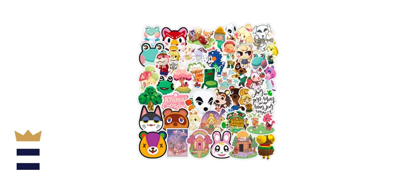 YEESACG Animal Crossing Stickers, 50 Pack