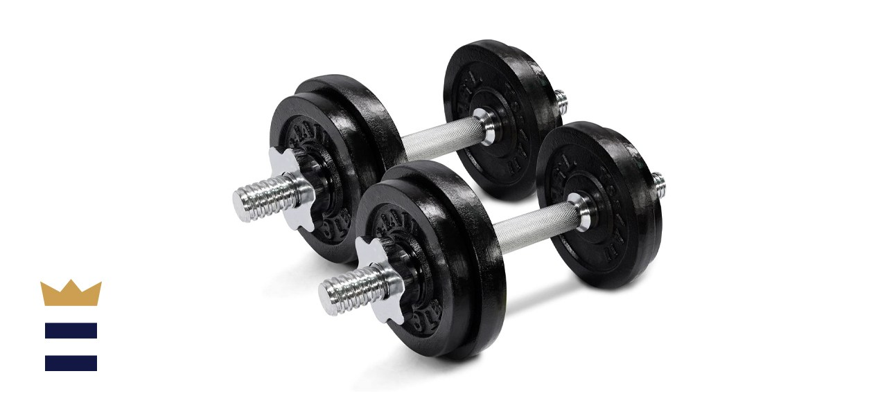 Yes4All Adjustable Dumbbells with Connector Options