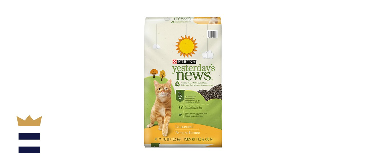 Purina Yesterday's News Original Unscented Non-Clumping Paper Cat Litter