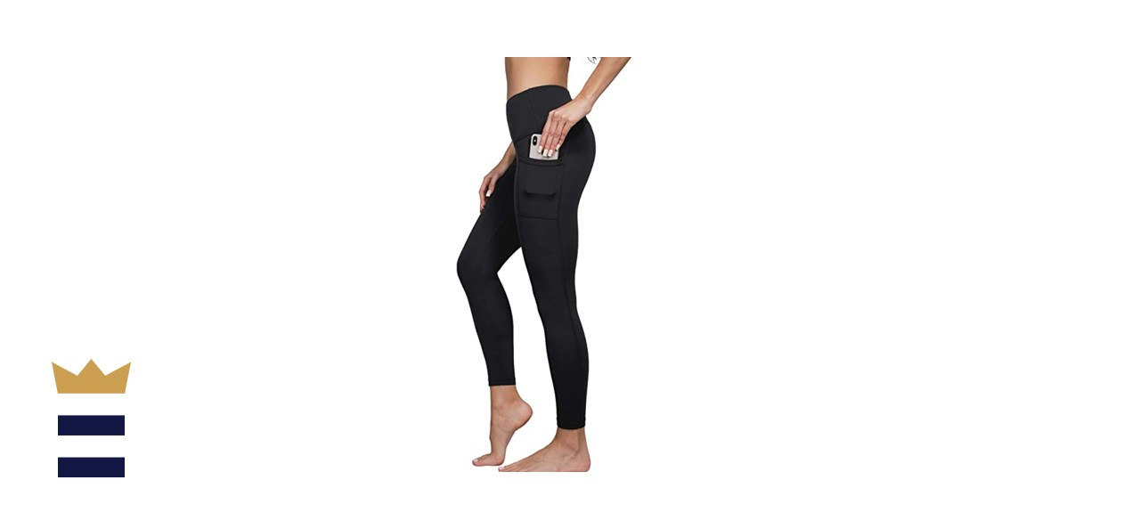 Yogalicious High Waist Ultra Soft Ankle Length Leggings with Pockets