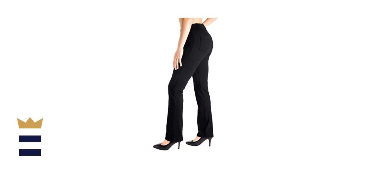 Yogipace Straight Leg Dress Pants